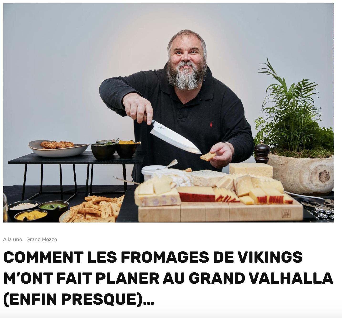 Un exemple  récent de sujet à la Olivier Malnuit pour Grand Seigneur. Je l'avais accompagné sur ce reportage.